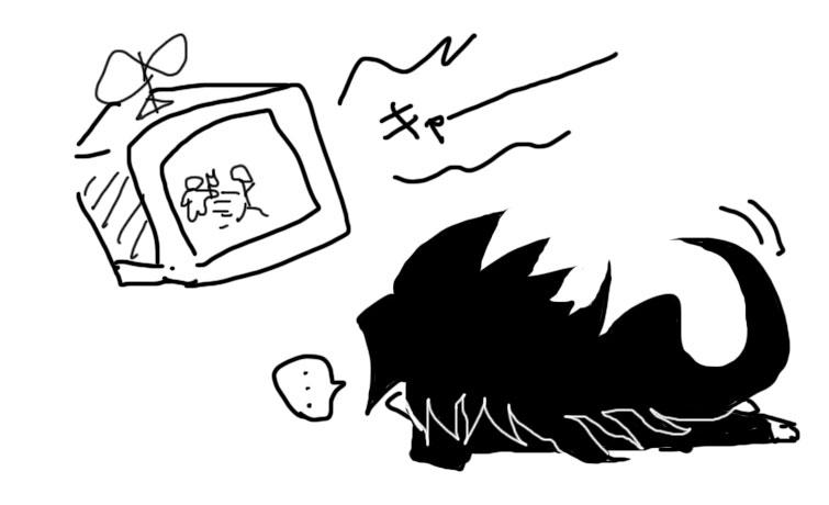 歪御くんとテレビ